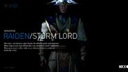 MKX Raiden Stormlord