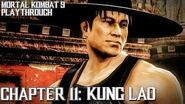Mortal Kombat 9 (PS3) - Story Mode - Chapter 11 Kung Lao Gameplay Playthrough