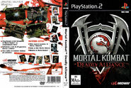 Mortal Kombat Deadly Alliance Dvd por seaworld - ps2