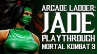 Mortal Kombat 9 (PS3) - Arcade Ladder Jade Playthrough Gameplay
