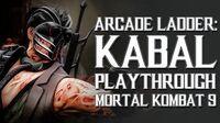 Mortal Kombat 9 (PS3) - Arcade Ladder Kabal Playthrough Gameplay