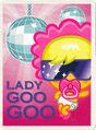 Moshi Monsters Postcard - Lady Goo Goo