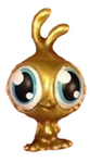 Chirpy figure gold