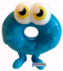 Oddie figure brilliant blue