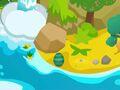 Egg Hunt egg on map