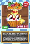 Collector card food factory cutie pie