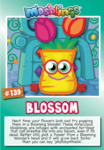 Collector card s8 blossom