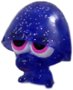 Pooky figure glitter purple