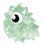 Lurgee figure squishy green