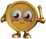 Wallop figure gold