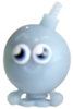 Cherry Bomb figure voodoo blue