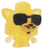 Blingo figure glitter yellow