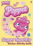 Poppet Super Sparkly Sticker Activity Book cover
