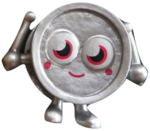 Wallop figure silver