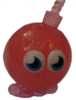 Cherry Bomb figure glitter red