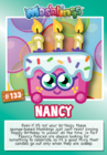 Collector card s8 nancy