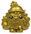 Leo figure gold
