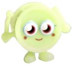 Wallop figure scream green