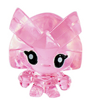 Captain Squirk figure squishy pink