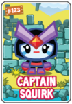Collector card s5 captain squirk