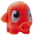 Mr Snoodle figure sonic orange