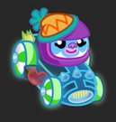 Moshi Karts moshlings neon Leo