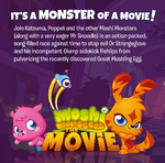 Moshi movie soundtrack booklet Page 02
