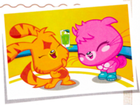 Poppet and Katsuma laughing.png