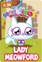 Collector card s1 lady meowford