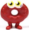 Oddie figure bauble red