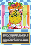 Collector card food factory pinestein