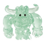 Lummox figure squishy green