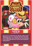 Collector card magnificent moshi circus fopkin