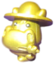 Humphrey figure gold