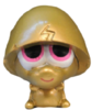 Pooky figure gold