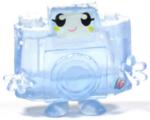 Holga figure frostbite blue