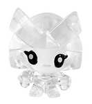 Captain Squirk figure squishy clear