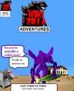 Wikizilla Rulers of Wiki Issue 165