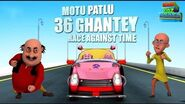 36 Ghante Race Against Time - Motu Patlu - Most popular Movies For Kids - Movie - WowKidz Movies