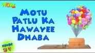 Motu Patlu Cartoons In Hindi - Animated Series - Motu Patlu Ka Hawayee Dhaba - Wow Kidz