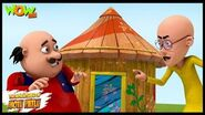 Motu Patlu New Episode - Cartoons - Kids TV Shows - Motu Ke Pappa Ka Bungalow - Wow Kidz