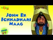 Motu Patlu Cartoons In Hindi - Animated cartoon - John ek ichhadhari naag - Wow Kidz