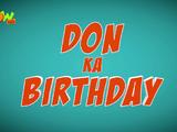Don Ka Birthday