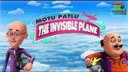 Motu Patlu - The Invisible Plane - Full Movie - Animated Movies - Wow Kidz Movies