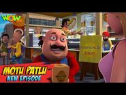 Motu Patlu New Episodes - Meals On Wings - Funny Stories - Wow Kidz