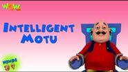 Motu Patlu Cartoons In Hindi - Animated Series - Intelligent Motu - Wow Kidz