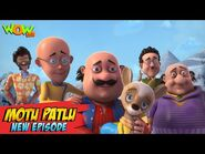 Motu Patlu New Episodes 2021 - Saving Baby Reindeer - Funny Stories - Wow Kidz