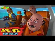 Motu Patlu New Episodes 2021 - Motor Boat Competition In Berlin - Funny Stories - Wow Kidz