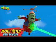 Motu Patlu New Episodes 2021 - Cyrus Ka Virus - Funny Stories - Wow Kidz