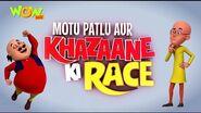 Motu Patlu Cartoons In Hindi - Animated movie - Motu Patlu Aur Khazaane Ki Race - Wow Kidz